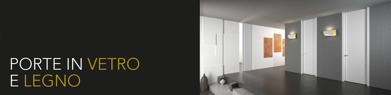 Porte in vetro alluminio
